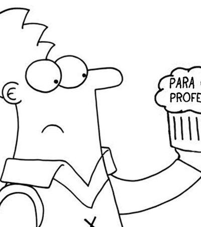 Professor primário ilustra seu dia a dia em quadrinhos sarcásticos e divertidos