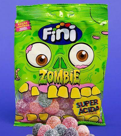 Com sabor 'arrepiante', Fini Zombie promete ser gelatina super ácida