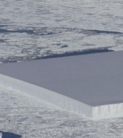 Nasa encontra iceberg com formato 'perfeito' na Antártida