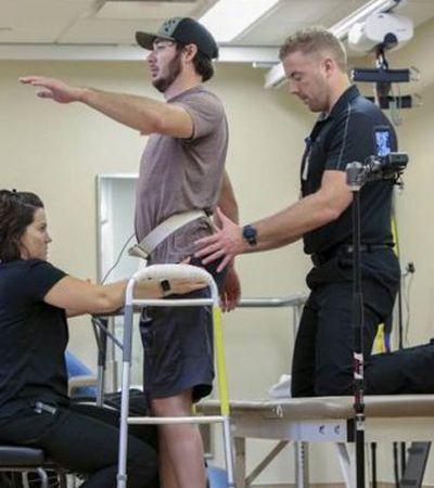 Homem paraplégico volta a andar nos EUA após estímulos elétricos