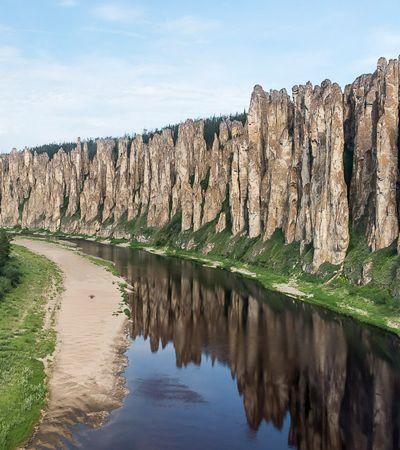 Pilares de Lena: a imponente floresta de pedra do leste da Rússia