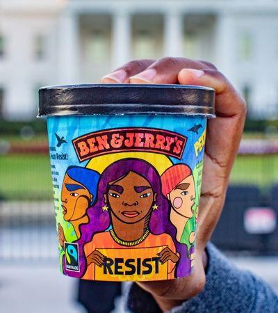 'Sorvete da resistência' da Ben & Jerry's terá doações às causas indígena e de imigrantes