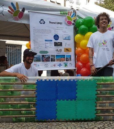 Estudantes da UERJ criam stand up paddle ecológico 15 vezes mais barato que o comum