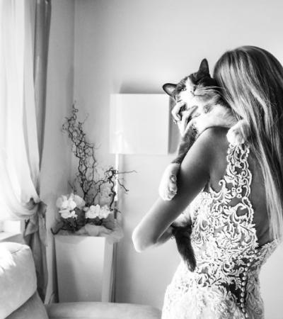 Gatos e noivos: fotógrafa italiana faz as fotos de casamento mais fofas que você verá