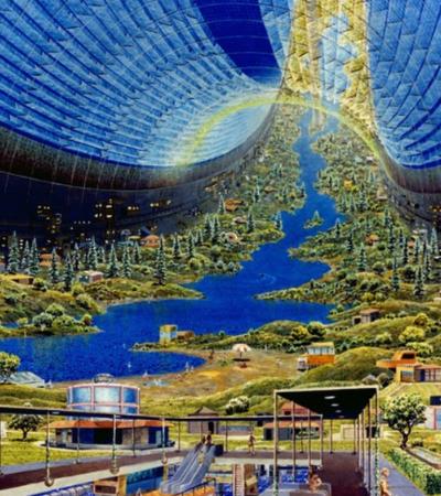 Projeto entre artistas e arquitetos imagina como seria a vida na lua