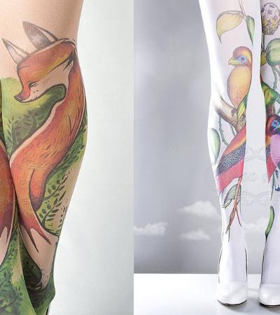 Conheça as meias que te dão a possibilidade de ter uma tatuagem por dia