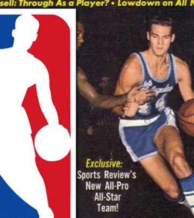 A história por trás da foto que originou o logo da NBA