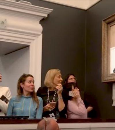 Banksy lança mini doc mostrando como armou a destruição do stencil da 'Menina com Balão'