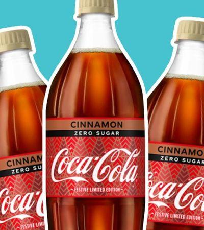 Coca-cola lança 'sabor canela' para celebrar no Natal que está chegando