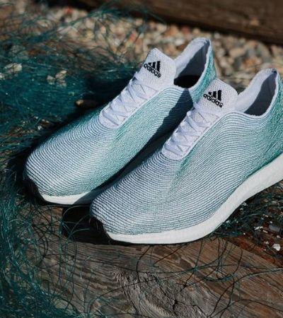 Adidas pode faturar US$ 1 bilhão com tênis com lixo do mar reaproveitado