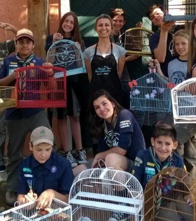 Projeto dá novos e positivos usos para gaiolas apreendidas da caça ilegal