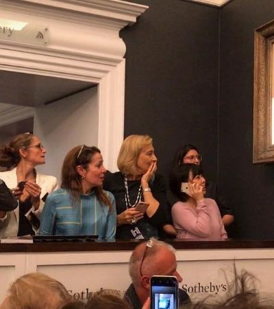 Obra de Banksy que se autodestruiu recebe novo nome e tem venda confirmada