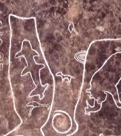 Cientistas descobrem gravuras rupestres que podem dar pistas de civilização perdida