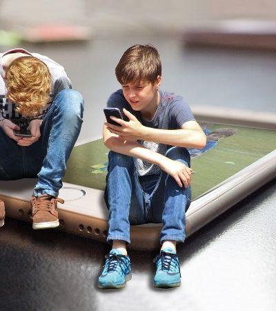 Como curar o vício de crianças em smartphones em 10 passos simples
