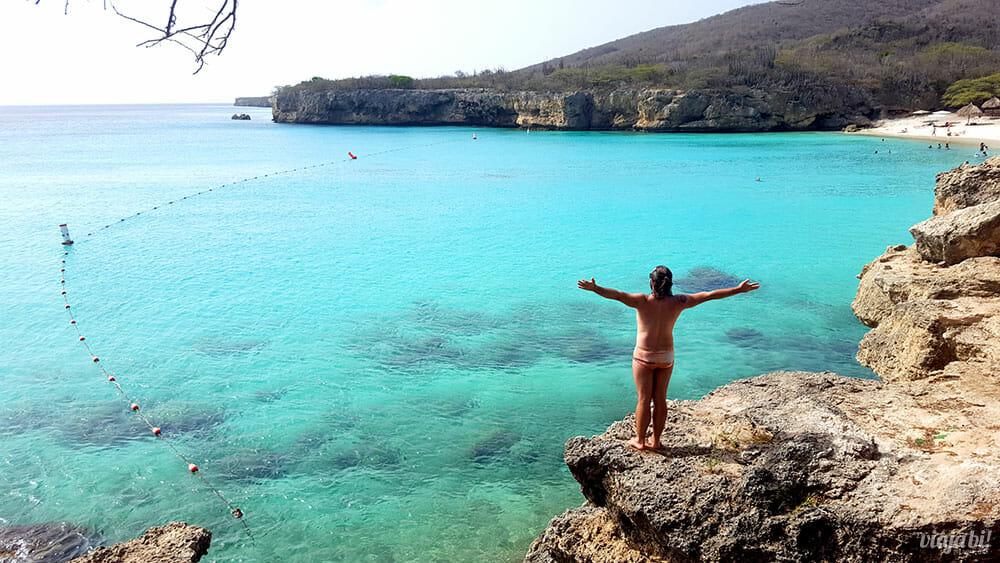 Kenepa Beach não pode ficar de fora do seu roteiro de praias em Curaçao - Foto: Rafael Leick/Viaja Bi!
