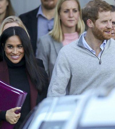 Cinco meses após união, Harry e Meghan estão esperando primeiro bebê