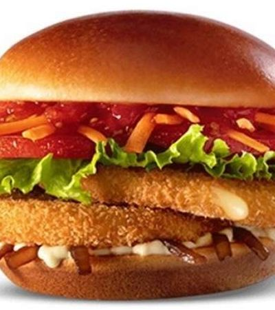 McVeggie: Lanche vegetariano do McDonald's tem data para estrear no Brasil