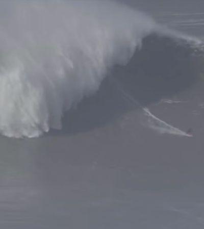 Maya Gabeira surfa onda de 20 metros e entra para livro dos recordes