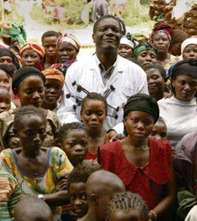 Prêmio Nobel vai para ativistas combatentes da violência sexual como arma de guerra
