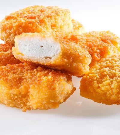 O nugget de frango que não é feito de frango, mas da carne de um animal ainda vivo
