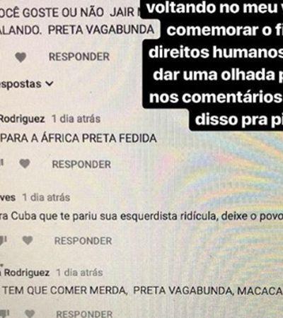 Esta Youtuber fez um vídeo contra Jair Bolsonaro e recebeu racismo como resposta