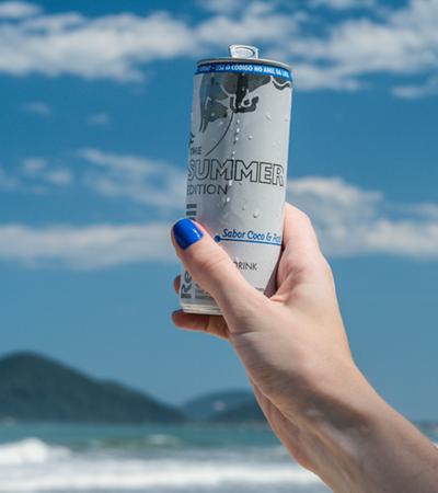 Conheça o novo sabor de Red Bull para o verão 2018
