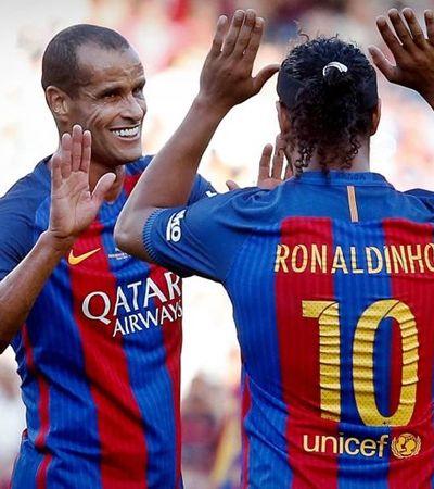 Barça se afasta de Ronaldinho gaúcho e Rivaldo após apoio a Bolsonaro