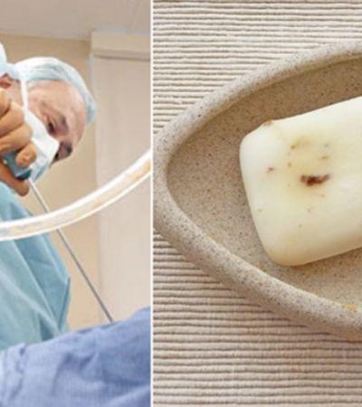 Sabonete feito com gordura de lipoaspiração poderá ser comprado em breve