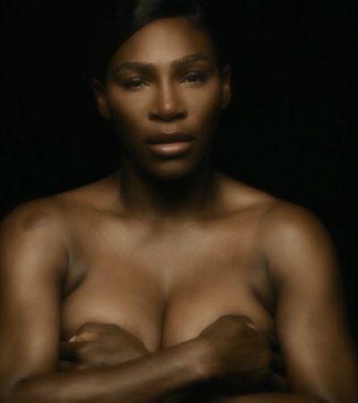 Serena Williams tira a roupa e canta 'I Touch Myself' pelo Outubro Rosa