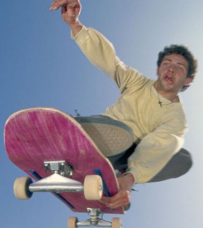 Diretor de 'Brilho Eterno' foi um fotógrafo f*da de skate e BMX nos anos 1980
