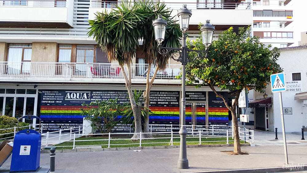 A Plaza de La Nogalera concentra os principais locais LGBT+ de Torremolinos - Foto: Rafael Leick / Viaja Bi!