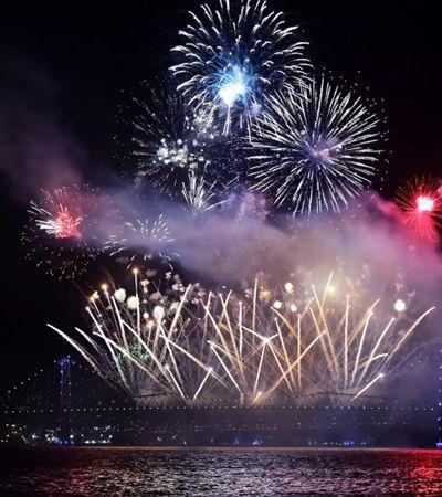 Ano Novo em Florianópolis terá fogos sem barulho em respeito aos animais