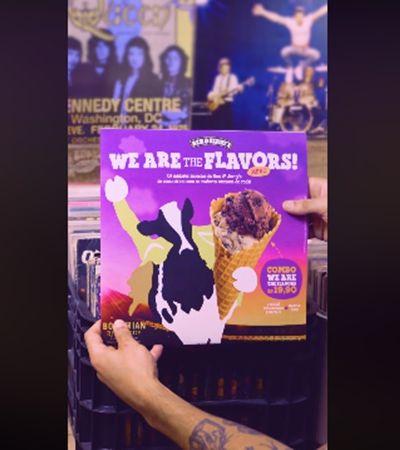 Some Brownie To Love: Ben&Jerry's cria sabores inspirados em músicas do Queen