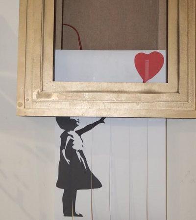 Tutorial ensina passo a passo a criar sua própria obra de Banksy que se destrói