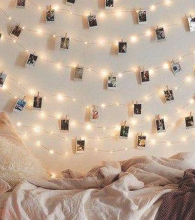 7 dicas do Pinterest para você encher a casa com luzinhas de Natal