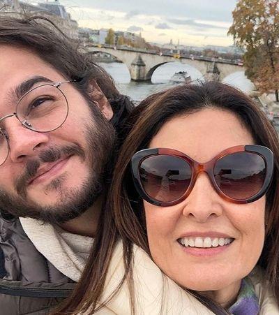 Em viagem dos sonhos, Fátima conhece família, vai ao museu e anda de metrô com Túlio