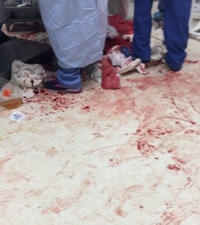 Médicos compartilham imagens chocantes de atendimento a vítimas de violência armada