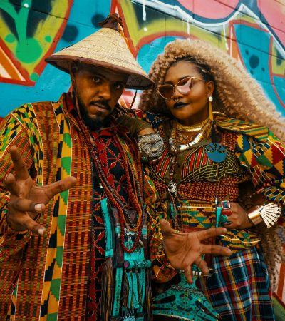 Colamos na gravação de 'Pulelê', o novo clipe de Monkey Jhayam com a Gaby Amarantos