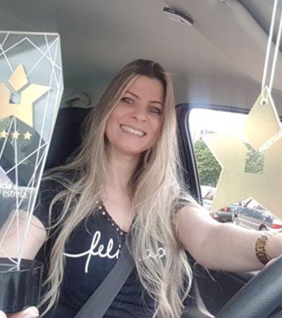 Direção 5 estrelas: A melhor motorista da Uber no Brasil é uma mulher