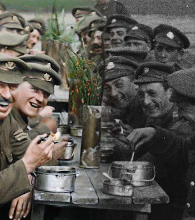Diretor de 'Senhor dos Anéis' restaura e colore 100 horas de filmagens da Primeira Guerra Mundial