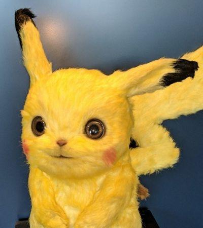 Warner divulga fotos de making of dos Pokémons realistas usados em filme