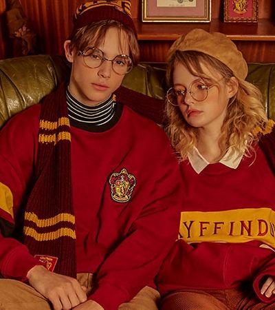 Marca coreana faz uma linha de roupas inspiradas 'Harry Potter' incrível