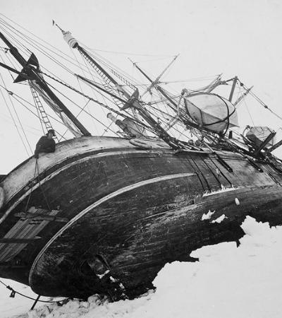Fotos da viagem à Antártica que foi uma das maiores 'quase tragédias' da história
