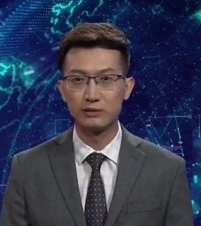 Inteligência artificial: Estamos em choque com os apresentadores de TV artificiais da China