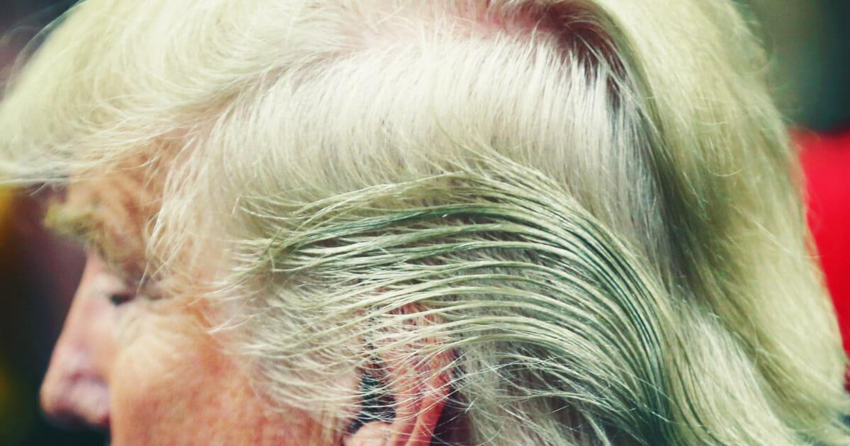 Donald Trump e seu corte de cabelo, alvo preferencial dos humoristas americanos