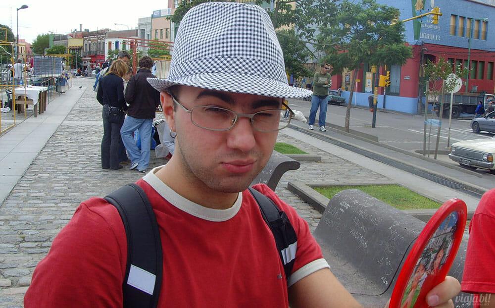 Minha primeira em Buenos Aires, na Argentina, em 2008 - Foto: Rafael Leick / Viaja Bi!