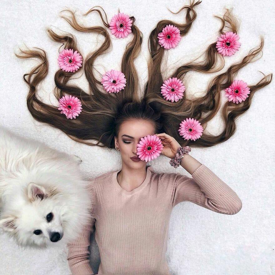 artista ensaio cabelo 17