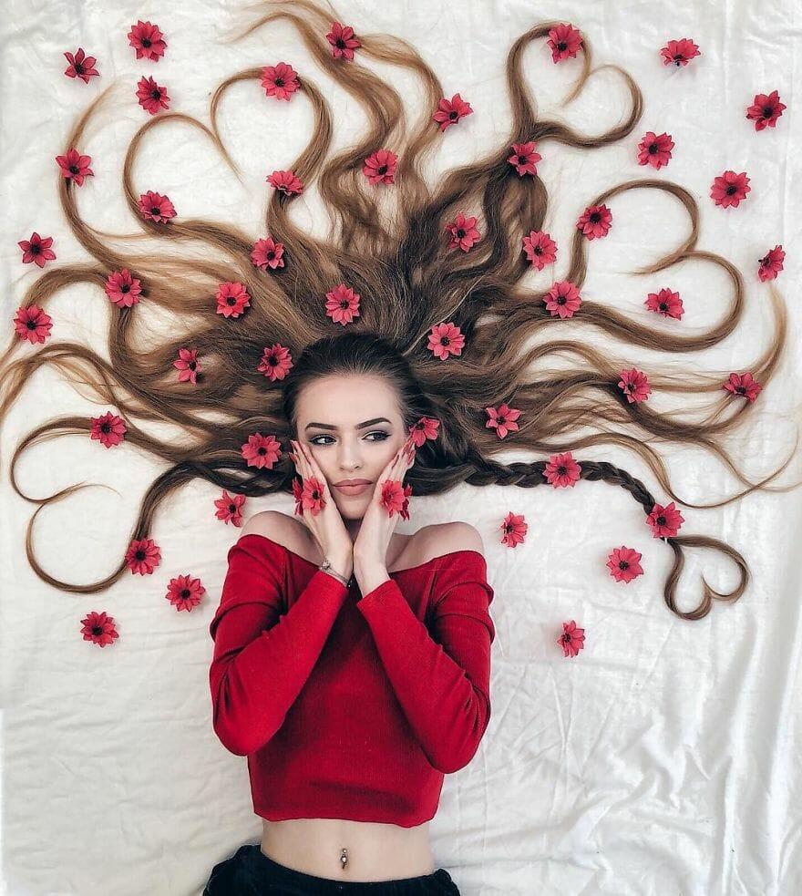 artista ensaio cabelo 5