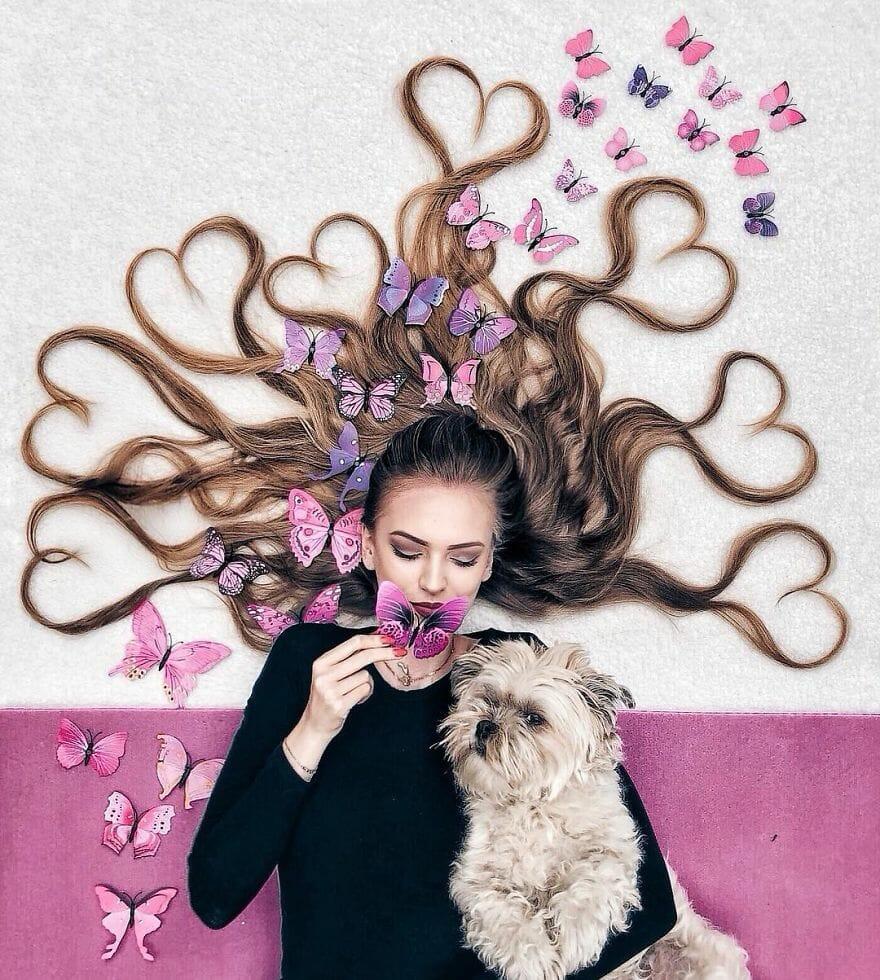 artista ensaio cabelo 9