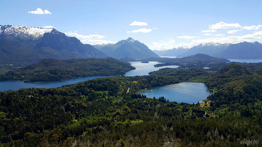 Bariloche vista do Cerro Campanario - Foto: Rafael Leick / Viaja Bi!